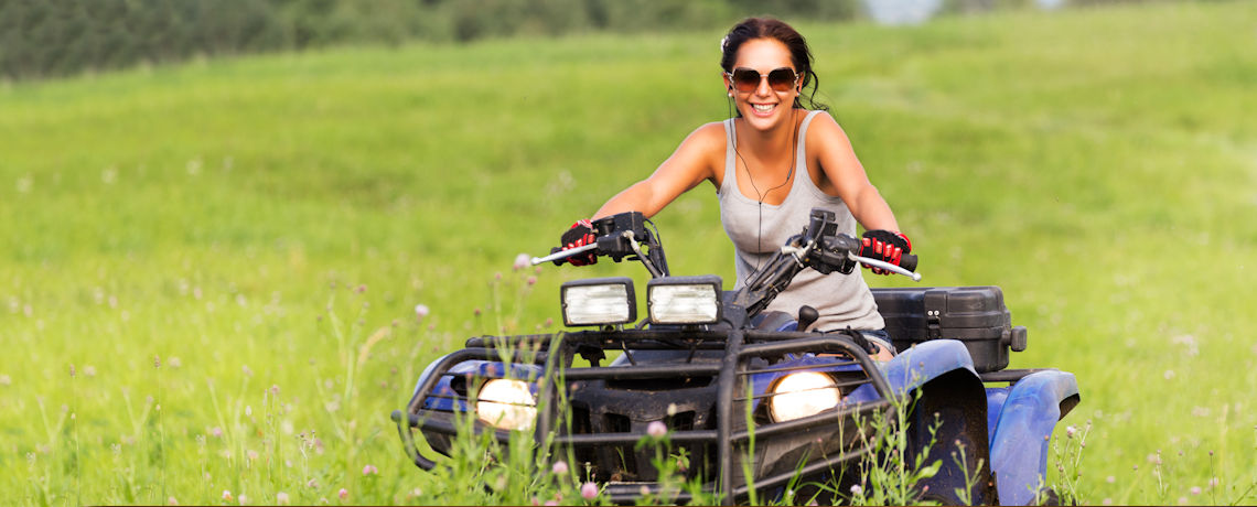 ATV, UTV, Boat, and Motorcycle Insurance